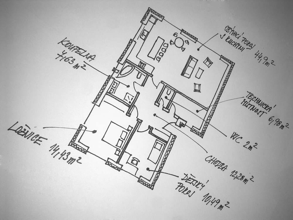 Rezidence Za Kostelíkem - RD typ A