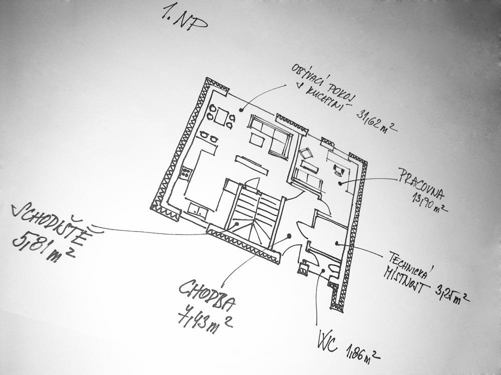 Rezidence Za Kostelíkem - RD typ B
